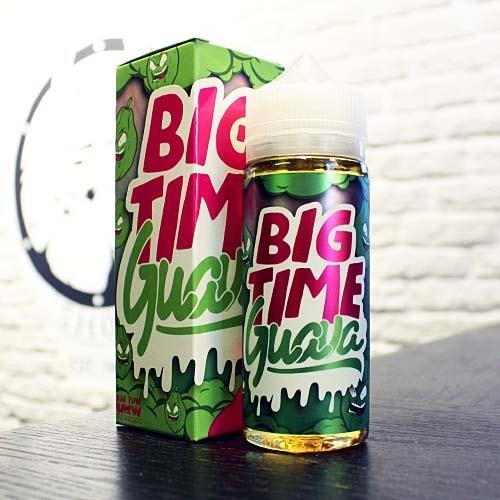 Премиум жидкость Big Time - Juice Guava 120ml 3mg