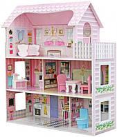Деревянный домик для кукол в 3 этажа (аналог KidKraft)