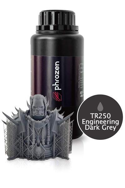 Високотемпературна фотополімерна смола Phrozen Functional Resin TR250 High Temp Gray 500 мл