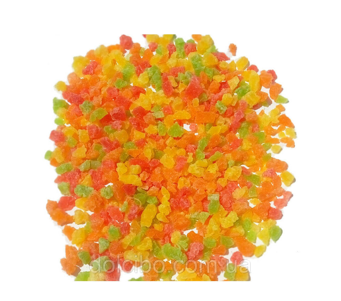 Ананас микс цукат (мелкий) 500 г