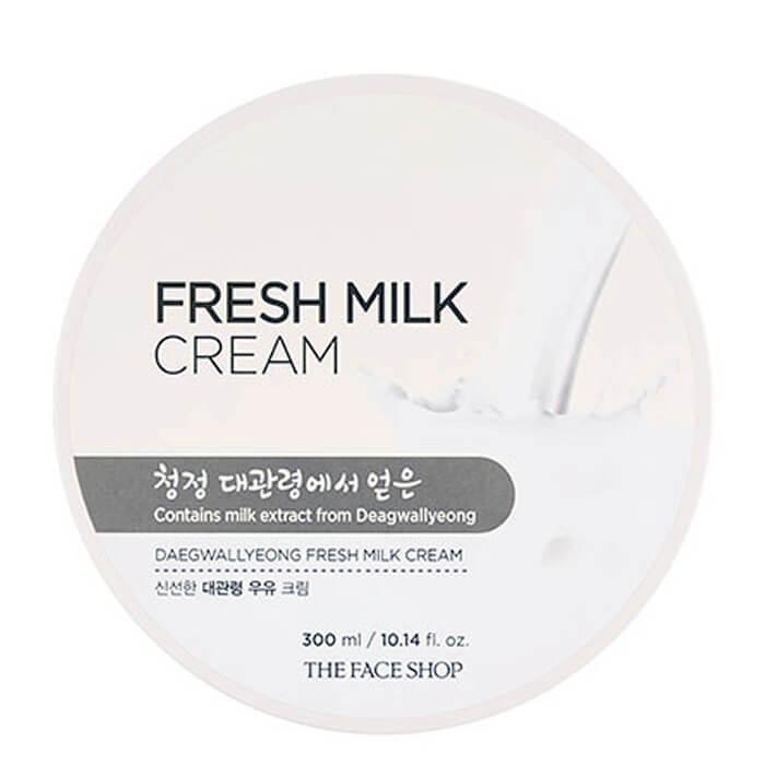 Крем с молочными протеинами The Face Shop Fresh Milk Cream, 300мл