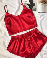 Піжама жіноча червона, фото 1