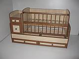 Детская кроватка - трансформер от 0 до 12 лет, фото 4