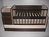Детская кроватка - трансформер от 0 до 12 лет, фото 5