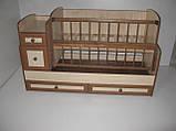 Детская кроватка - трансформер от 0 до 12 лет, фото 7
