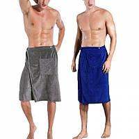 Мужское банное полотенце