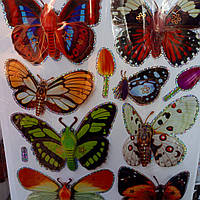 Бабочки 7 Д -Комнатный декор