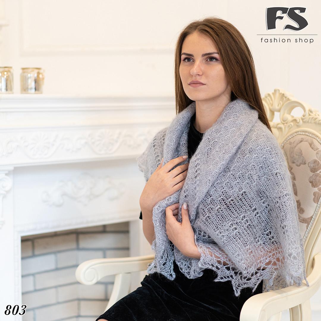 Оренбургский пуховой платок Сильвия 110см