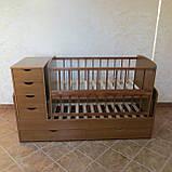 Дитяче ліжечко - трансформер від 0 до 12 років, фото 9