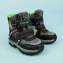 Термо ботинки две липучки на мальчика тм Том.м размер 23,25,26,27, фото 2
