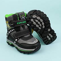 Термо ботинки две липучки на мальчика тм Том.м размер 23,25,26,27, фото 3