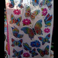 Бабочки 3 Д -Комнатный декор