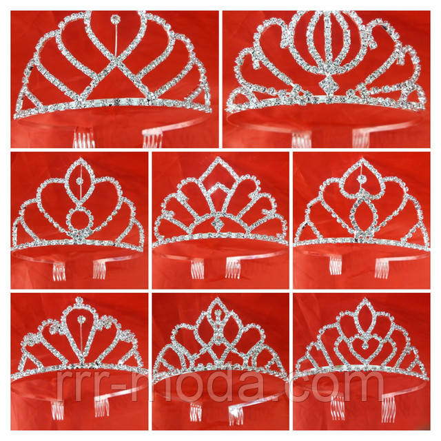 Фото. Свадебные Короны и диадемы оптом. Свадебные короны оптом, короны для детей.