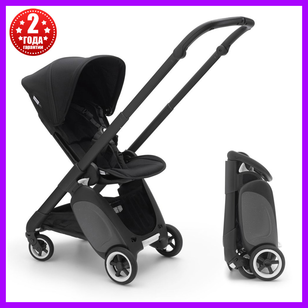 Прогулочная коляска Bugaboo ANT Black/Black