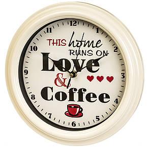 "Часы ""Love coffee"" 28см (2003-007), фото 2"