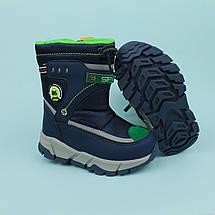 Термо чобітки для хлопчика зимове взуття тм Тому.м розмір 27, фото 3