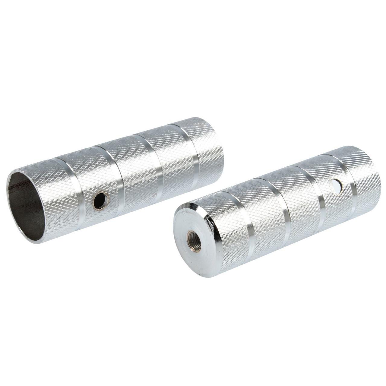Пеги на ВМХ 38х110 мм под ось 10 мм, алюминиевые