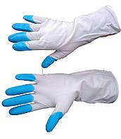 Перчатки резиновые Дельфин - размер M