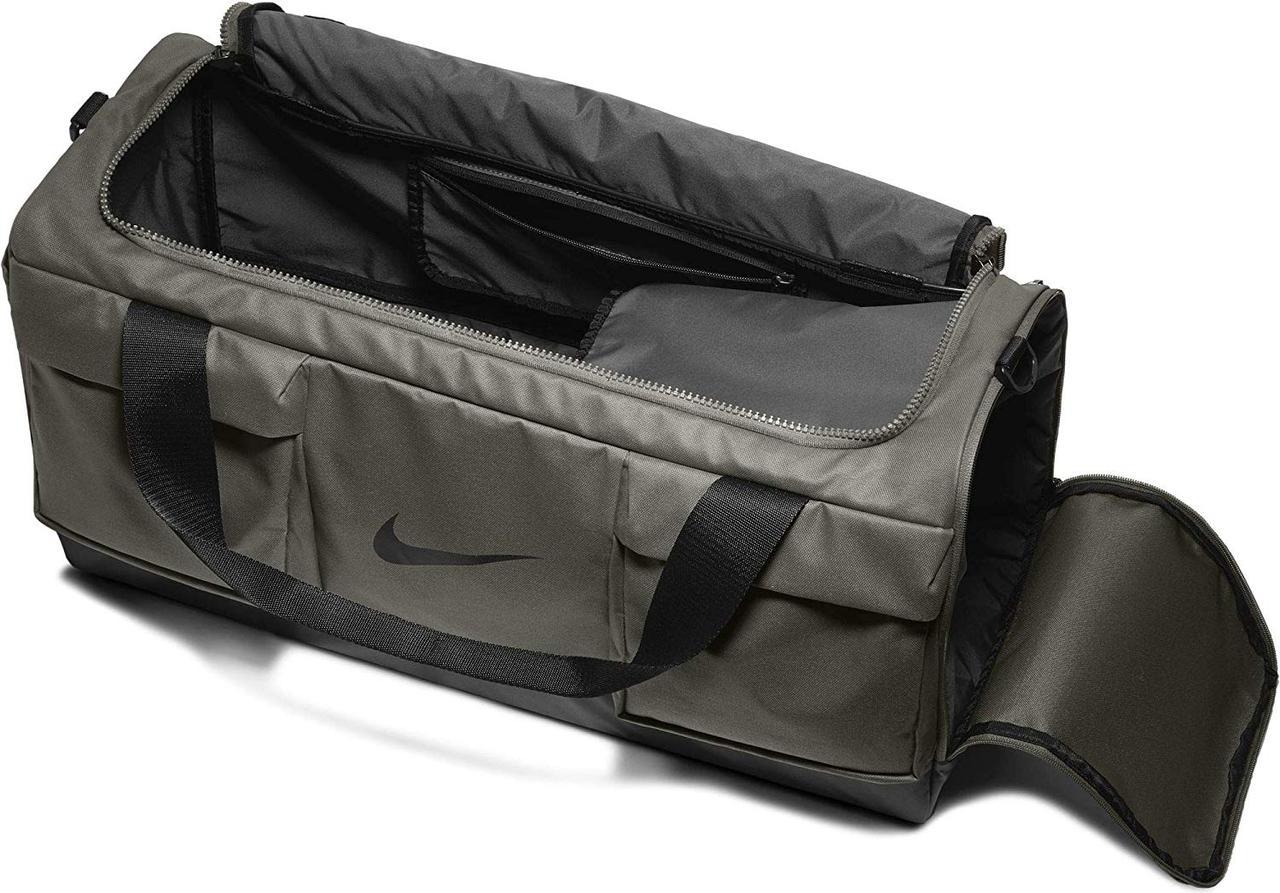 Сумка Nike Vapor Power Men's Training Duffel Bag Medium BA5542-355 Темно-зеленый (193151310163)