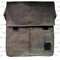 A-line Плечевая сумка с кобурой А39, серо-коричневый джинс синтетическая, фото 1