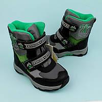 Фирменные Термо ботинки зимние теплые на мальчика тм Том.м размер 27,29,30,31,32