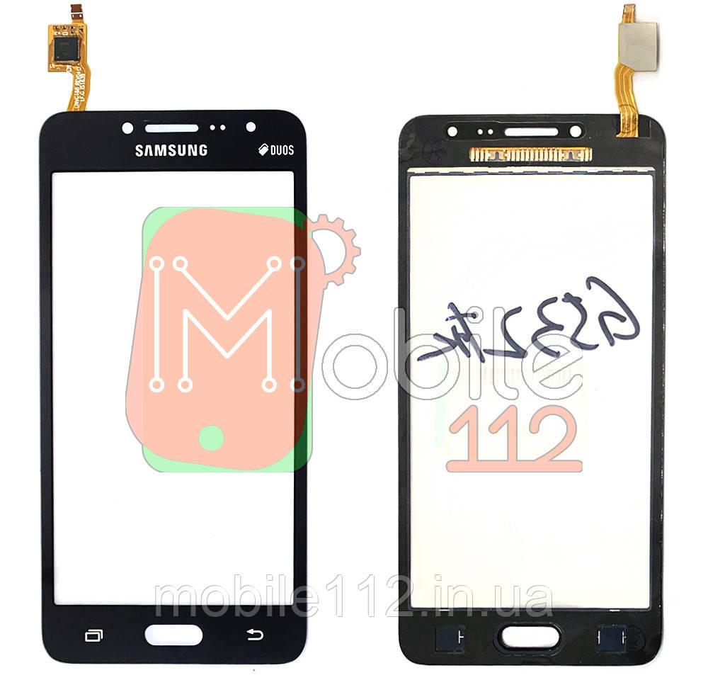 Тачскрин (сенсор) Samsung G532F Galaxy J2 Prime (2016) черный