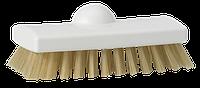 Скребковая щетка с термостойким ворсом, 150 мм, Жесткий, белый цвет