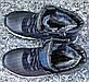 Ботинки детские зимние подростковые кожаные зимние ботинки на меху для мальчика Zangak, фото 4