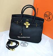 Женская брендовая сумка реплика Гермес средняя 6