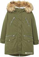 Стильная зимняя женская куртка парка Mango Оригинал (Размер L)