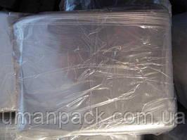 Пакет прозорий поліпропіленовий + скотч 14,5*20+4\25мк +скотч (1000 шт)заходь на сайт Уманьпак