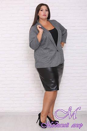 Женский пиджак больших размеров (р. 48-90) арт. Марианна, фото 2
