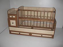 Детская кроватка - трансформер от 0 до 12 лет