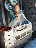 Дитяче ліжечко - трансформер від 0 до 12 років, фото 10