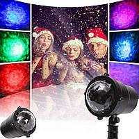Уличный лазерный проектор LED проектор для освещения домов с эффектом воды Star Shower Light show