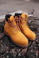 Женские зимние ботинки Timberland ''Ginger'' \ Тимберленд Рыжие \ Жіночі черевики Тімберденд Рижі