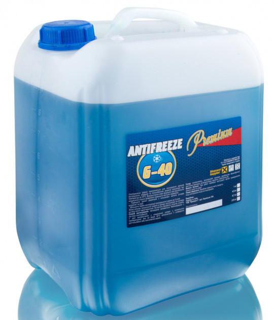 Антифриз G11 10 кг синий Blue TM Premium