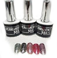 Гель лак с блестками Permanent nails