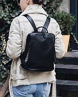 Женский стильный  кожаный рюкзак