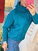 Свитер женский стильный, теплый, синий, 211-0777-3