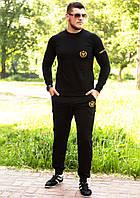Спортивный костюм Miracle черный с золотом
