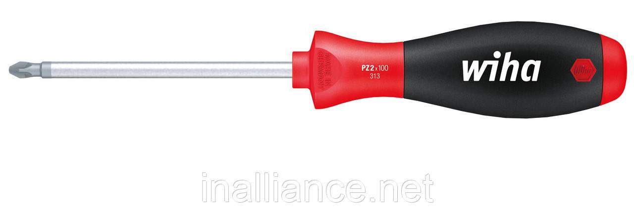 PZ3 х 150 мм отвертка хром-ванадий-молибденовая сталь полная закалка SoftFinish Wiha 00774