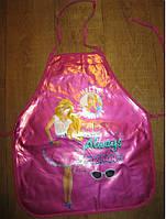 Детский плотный фартук без нарукавников Barbie