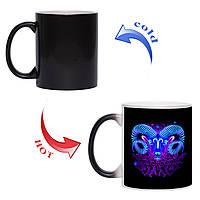 Сказочная чашка хамелеон Знак зодиака Овен 330 мл, фото 1