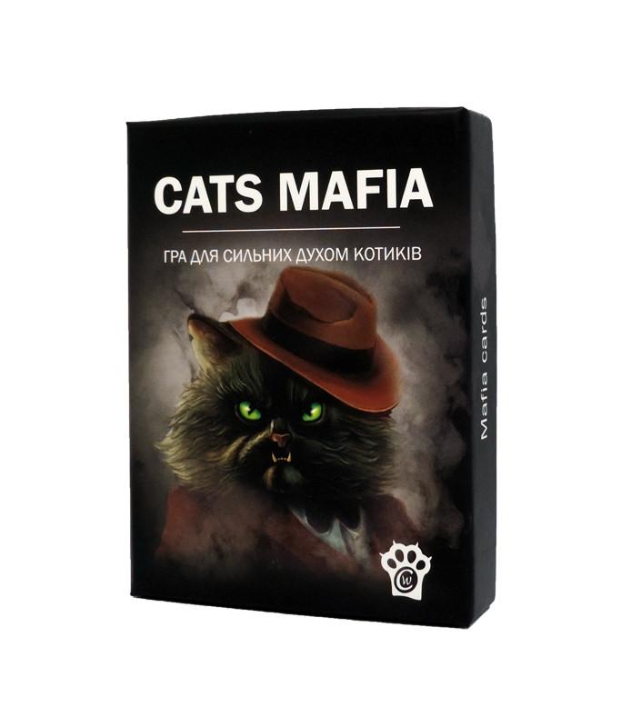 Настольная игра Котомафия (Котомафія, Cats Mafia)