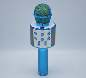 Микрофон DM Караоке WS858 Микрофон для караоке Голубой
