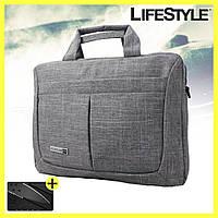 Сумка портфель для ноутбука и документов + Подарок, фото 1