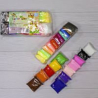 Пластилин мягкий легкий 24 цвета
