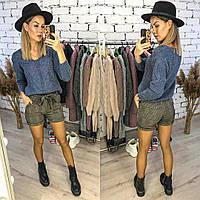 Женские стильные шорты  ЛГ304, фото 1