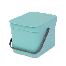 Корзина для мусора Brabantia Sort & Go Waste Bin 6 л Mint